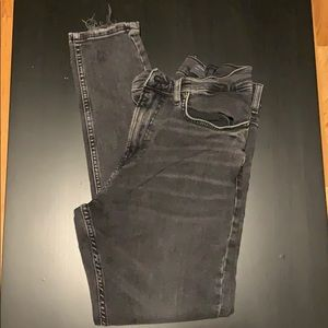 Dark grayish Zara stretchy skinny jeans